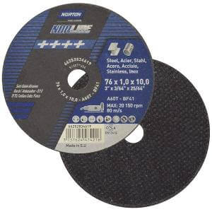 "Disco de Corte 3"" NorLine 76x1,0x10,0 Norton"