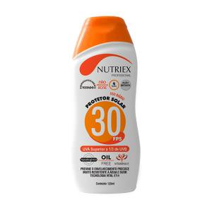 Protetor Solar FPS30 1/3 UVA 120ml Nutriex