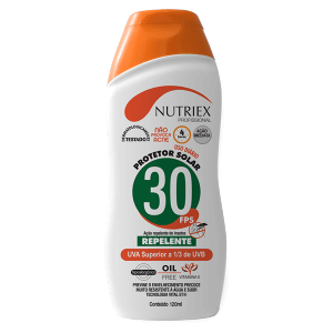 Protetor Solar FPS30 1/3 UVA com Repelente 120ml Nutriex