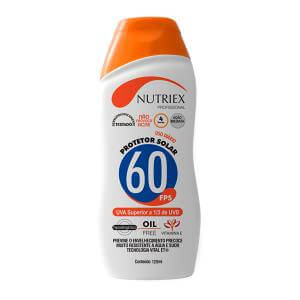 Protetor Solar FPS60 1/3 UVA 120ml Nutriex