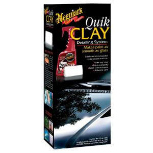 Kit Quik Clay Bar Descontaminação G1116 Meguiars