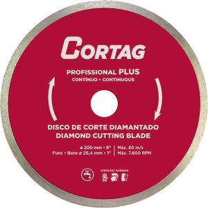 Disco Diamantado Porcelanato 200X2X25mm 60570 Cortag