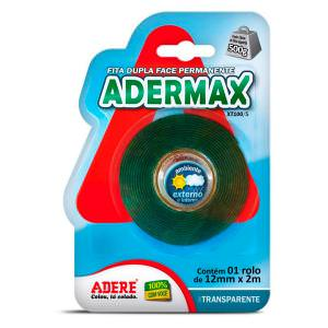 Fita Dupla Face Adermax XT100/S 12x2m Adere