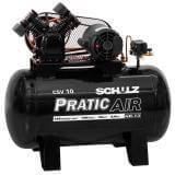 Compressor de Ar Pratic Air CSV 100L 10 pés 2HP Schulz