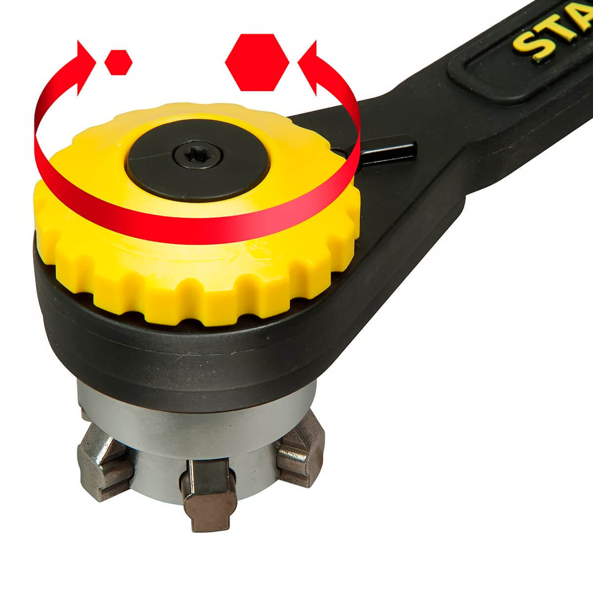 Chave Catraca Múltipla 27 em 1 Twintec 10-24mm STHT72123 Stanley