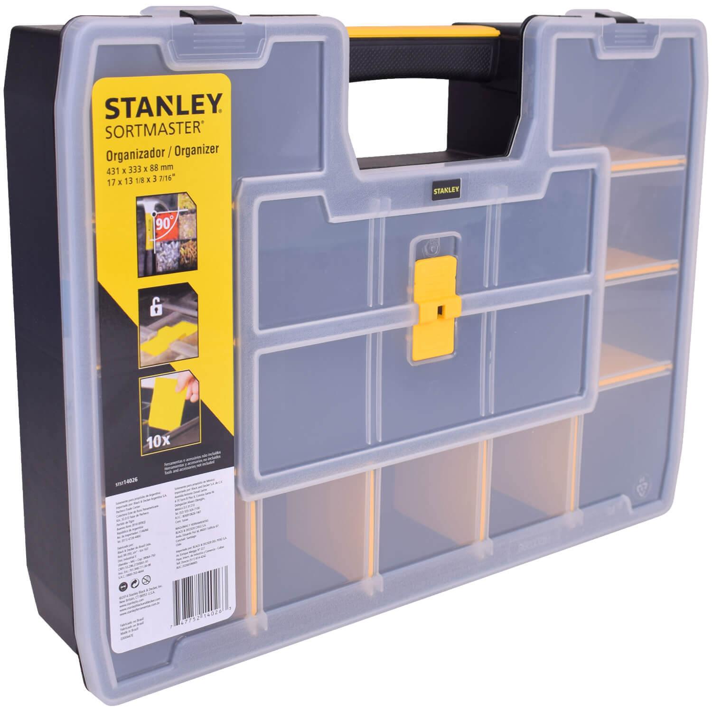 Fabuloso Organizador de Objetos 17 Divisões Softmaster STST14026 Stanley DL31