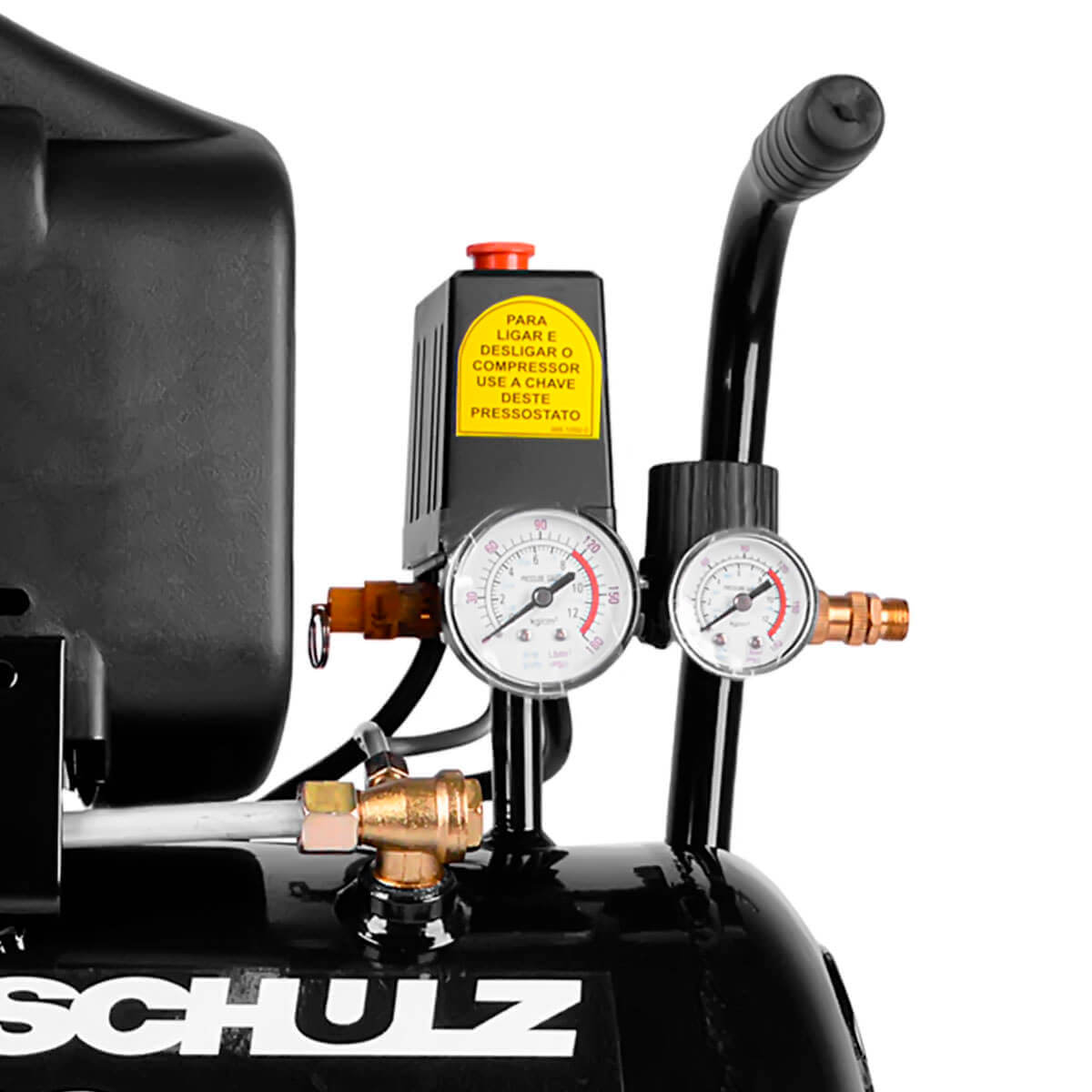 Motocompressor 8.2 25 Litros 2HP Pratic Air SCHULZ