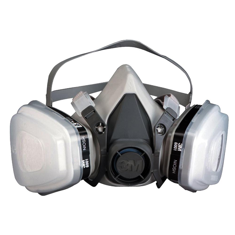 5173557cbcdfc Respirador Reutilizável Semifacial 6200 Kit Completo 3M