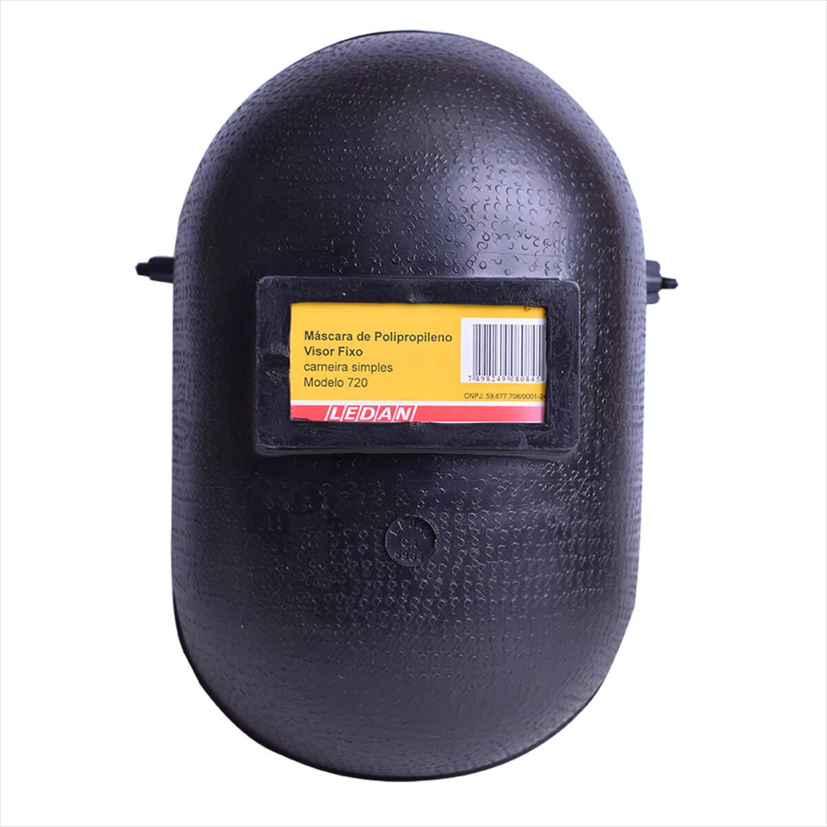Mascara de Solda em Polipropileno Visor Fixo 720 Ledan a544010843