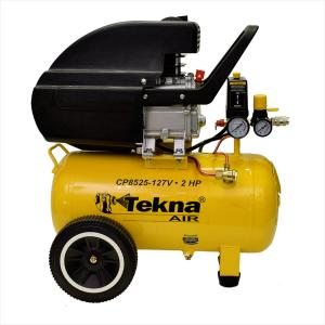 Motocompressor 24 Litros 115psi 2hp 8,5pcm 110v Cp8525 Tekna