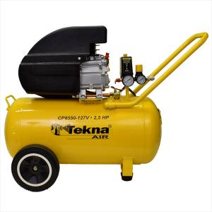 Motocompressor 50 Litros 115psi 2,5hp 8,5pcm 110v CP8550-1C Tekna