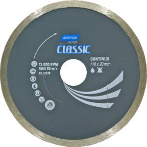 Disco Diamantado Continuo Classic 110 x 20 mm Norton