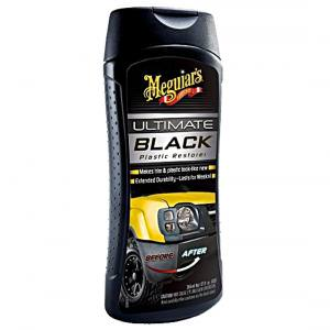 Renova Plásticos Ultimate Black 355ml Meguiars