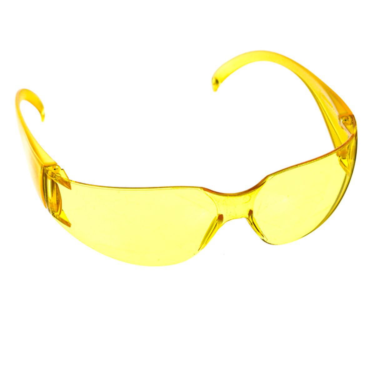 20e079eeee4b1 Óculos de Proteção Super Vision Amarelo Carbografite